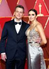 89-я церемония вручения оскар 89th Annual Academy Awards Matt Damon and Luciana Barroso