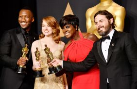 89-я церемония вручения оскар 89th Annual Academy Awards Mahershala Ali, Emma Stone, Viola Davis, Casey Affleck,