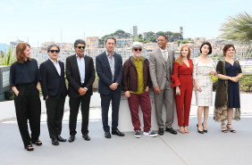 70-й Каннский международный кинофестиваль Cannes Film Festival Maren Ade, Park Chan-wook, Gabriel Yared, Paolo Sorrentino, President jury Pedro Almodovar Will Smith, Jessica Chastain, Fan Bingbing, and Agnes Jaoui