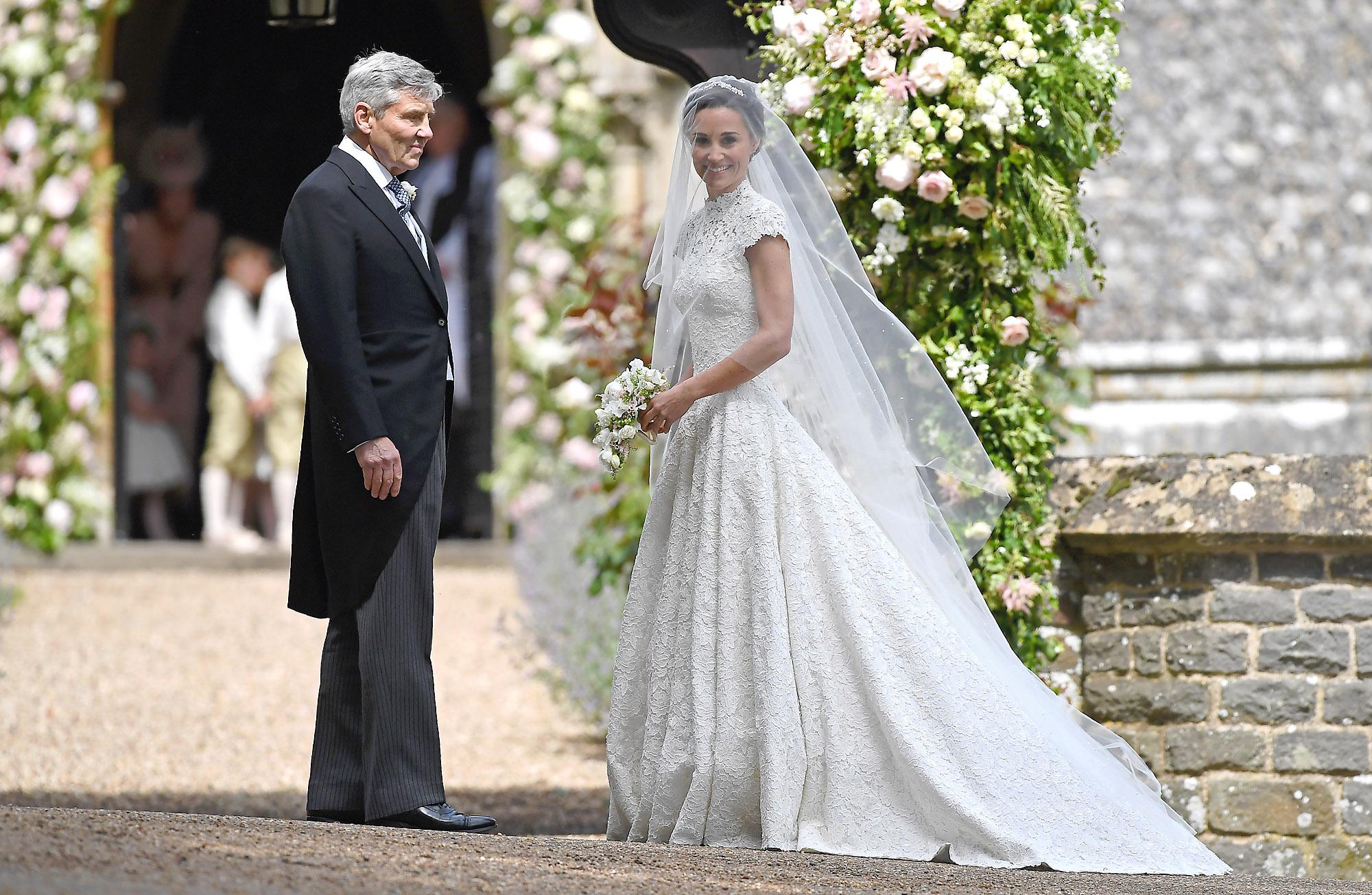 влиятельные женщины пиппа миддлтон выходит замуж фото они наносят изображения
