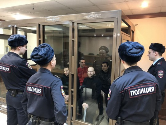 Украинские моряки в суде