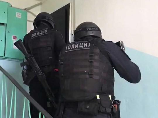 Задержание авторитета