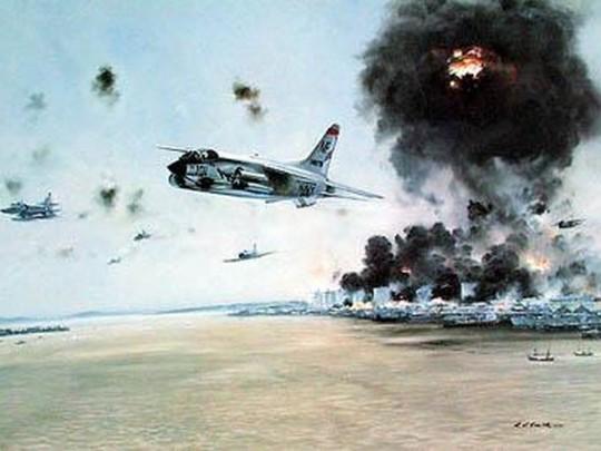 5 августа 1964 года американские самолеты провели 64 боевых вылета