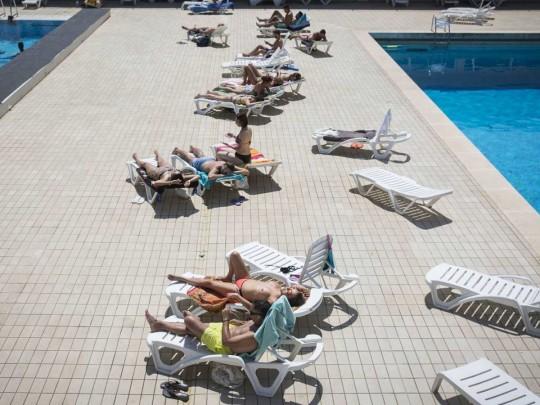 Барселона, бассейн