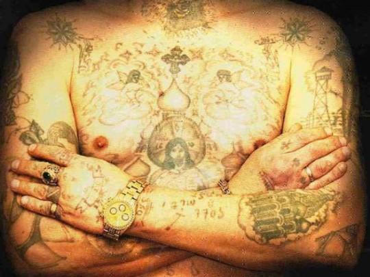 Татуировка вора в законе