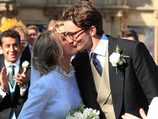 Певица Элли Голдинг вышла замуж: фото сосвадьбы экс-девушки принца Гарри