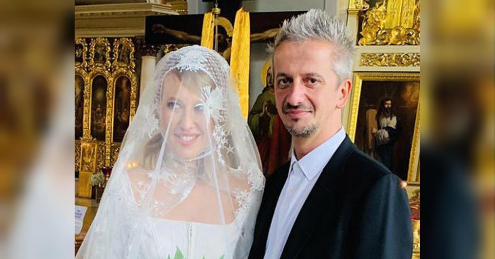 Фото с венчания собчак и богомолова