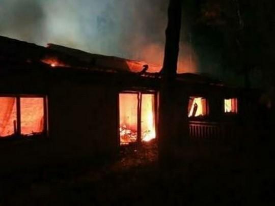 Сгорел дом Гонтаревой