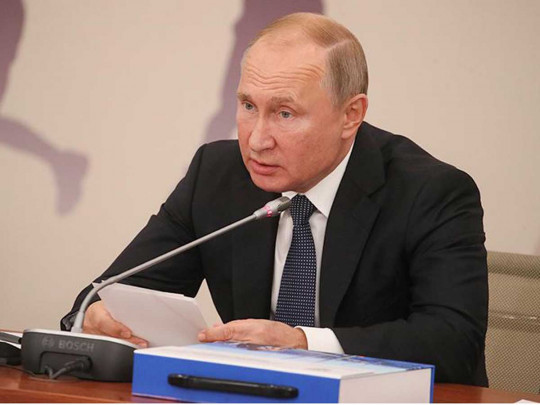 Путин предложил изучать поведение молодежи всети - Новости