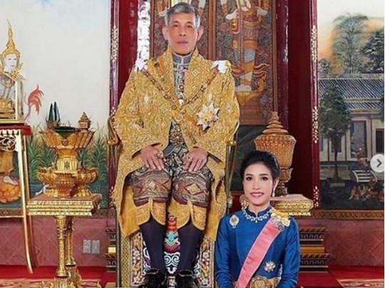Король Таиланда и его наложница