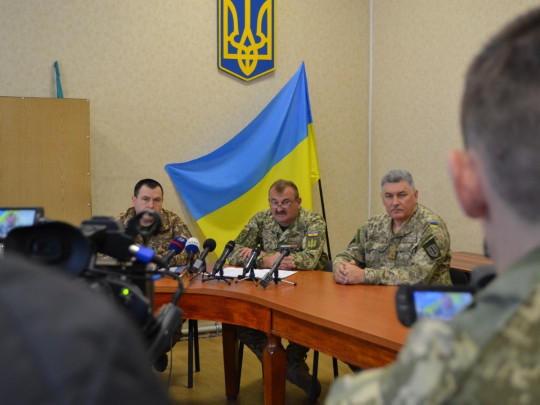 Командующий ООС Владимир Кравченко