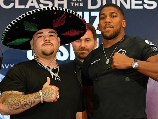 Руис – Джошуа: где смотреть онлайн бой-реванш в супертяжелом весе