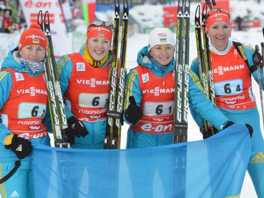 Биатлон женская сборная Украины