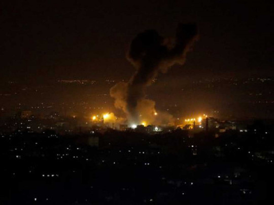 Израиль нанес удар