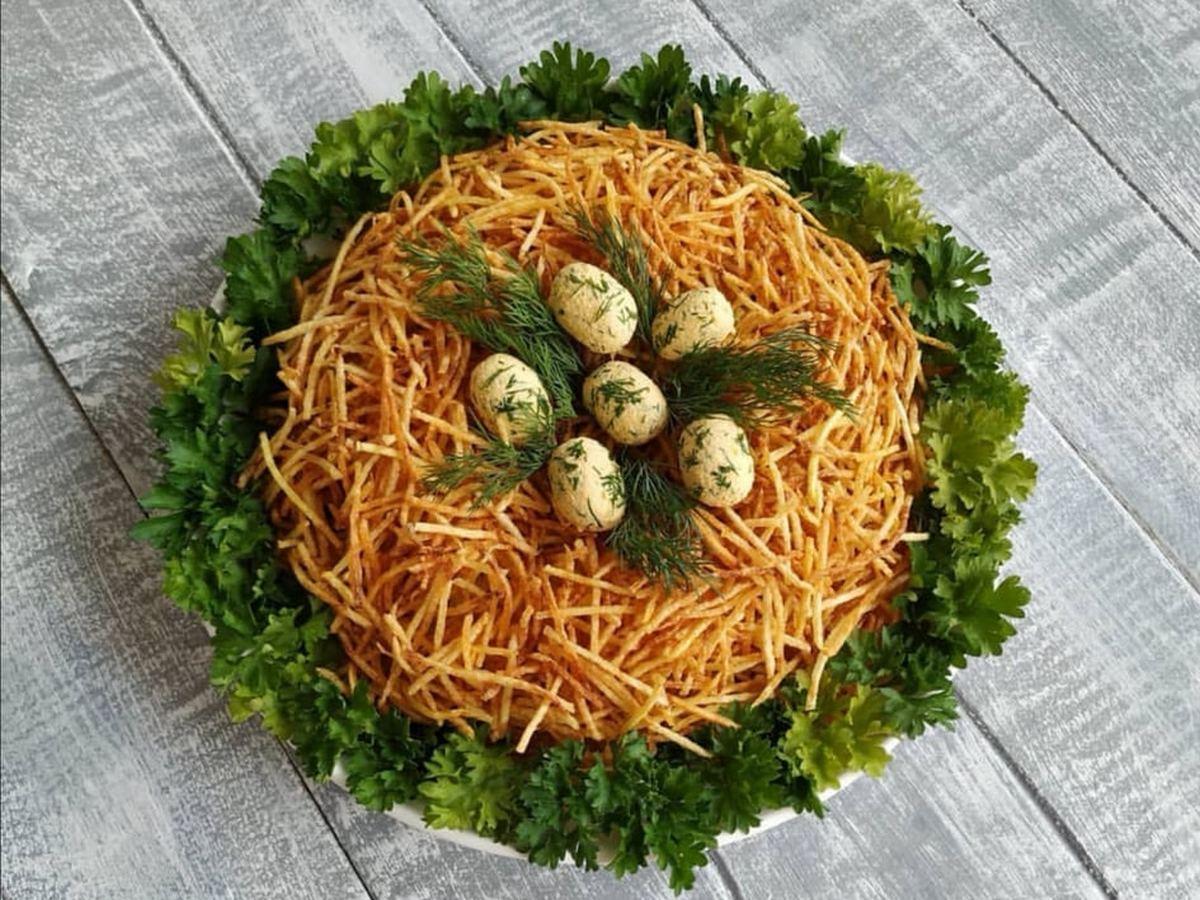 садовую салат орлиное гнездо рецепт с фото соединения социальной сетью