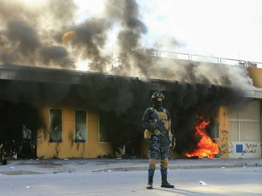 Антитеррористическая коалиция сказала о  падении 2-х  бомб вБагдаде