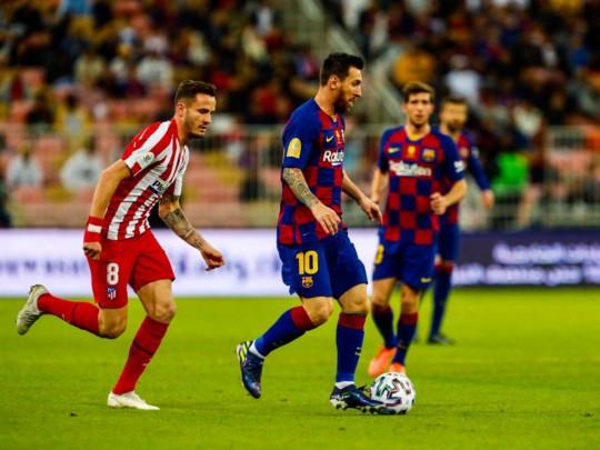 Трансляция онлайн матча суперкубок испании реал мадрид барселона