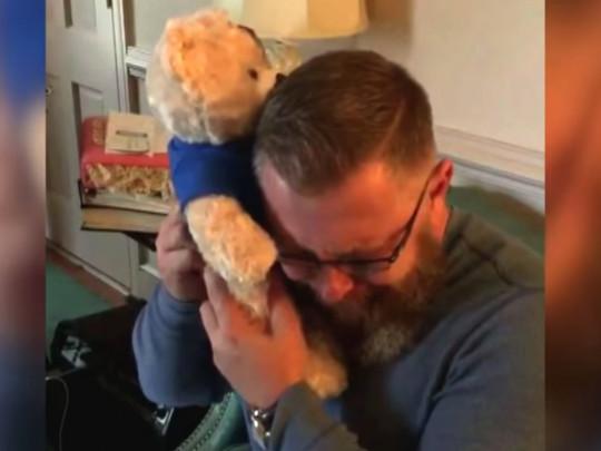 Джон с медвежонком