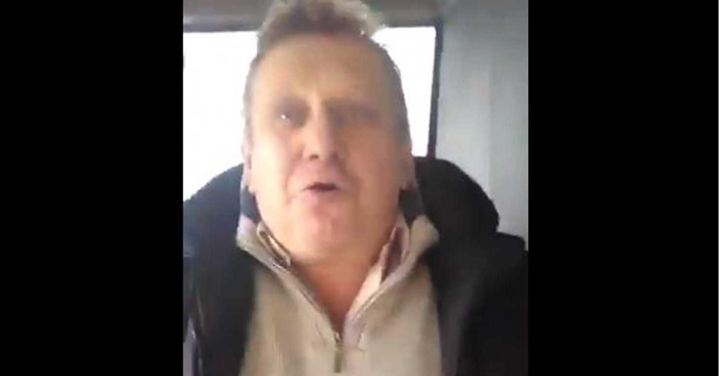 Неизлечимо инфицированный: агрессивный житель Донбасса своей речью воз