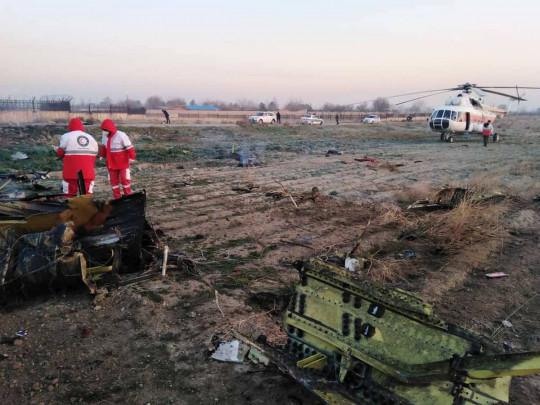 Самолет МАУ разбился в Иране