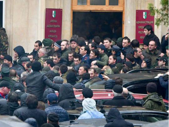 Бунт в Абхазии
