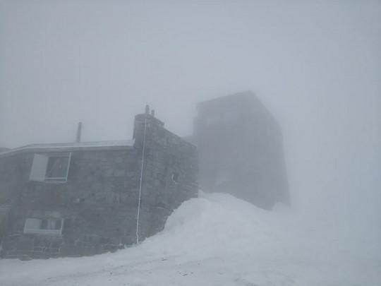 Снег на горе Поп Иван Черногорский