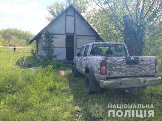 місце розстрілу 7 учасників АТО під Житомиром