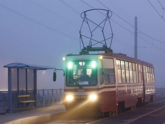 Трамвай в Днепре