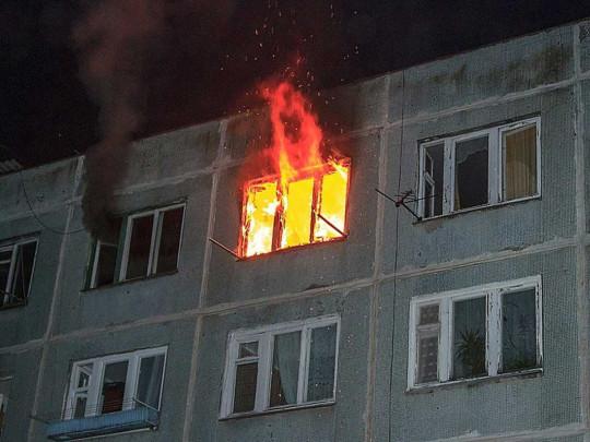 Пожар на Троещине