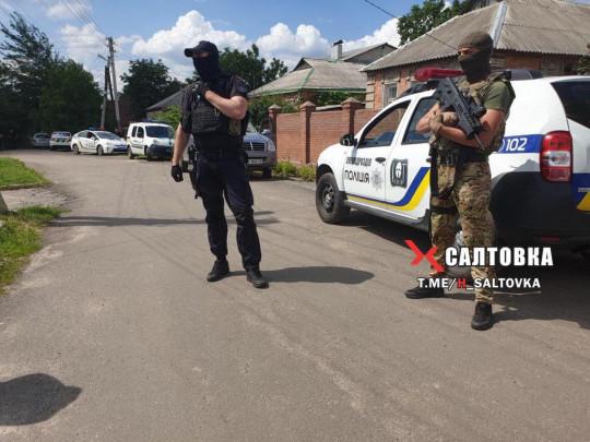 Полицейские в Харькове