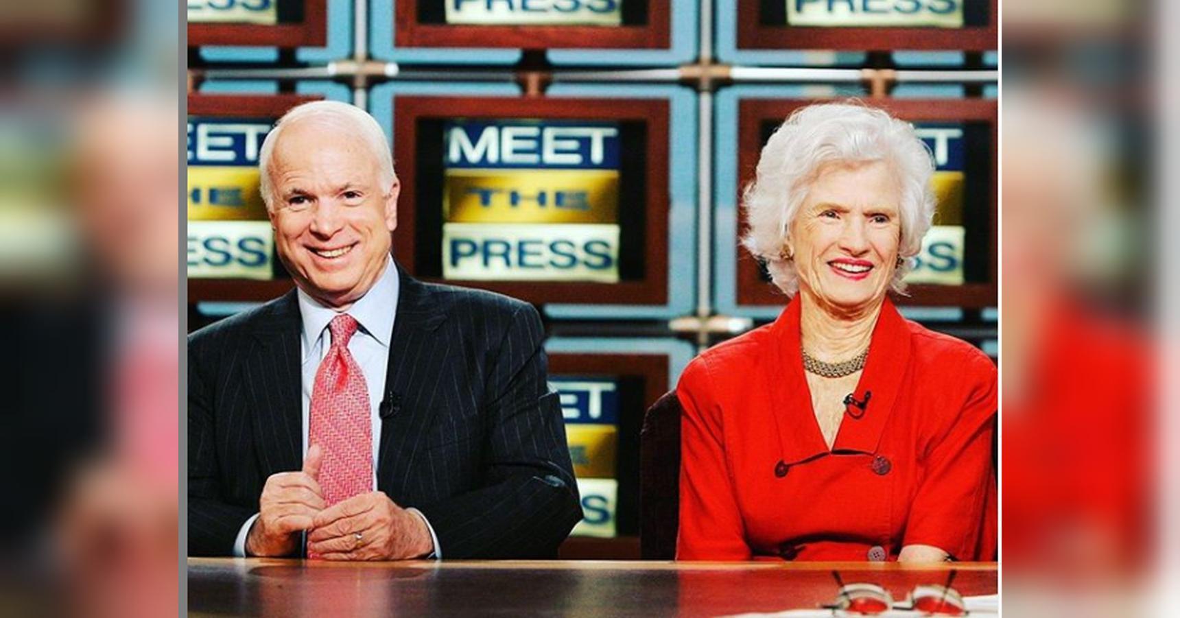 Roberta McCain, mother of late Sen. John McCain, dies at 108