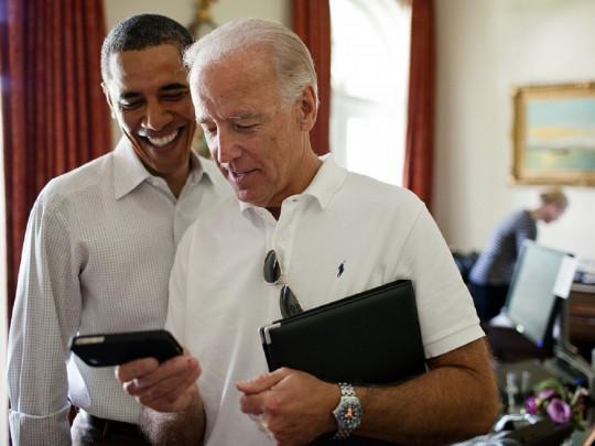 Обама и Байден