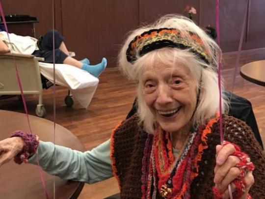 Анджелина Фридман в свои 102 года дважды победила коронавирус
