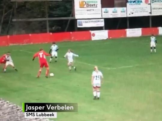 15-летний бельгиец Яспер Вербелен