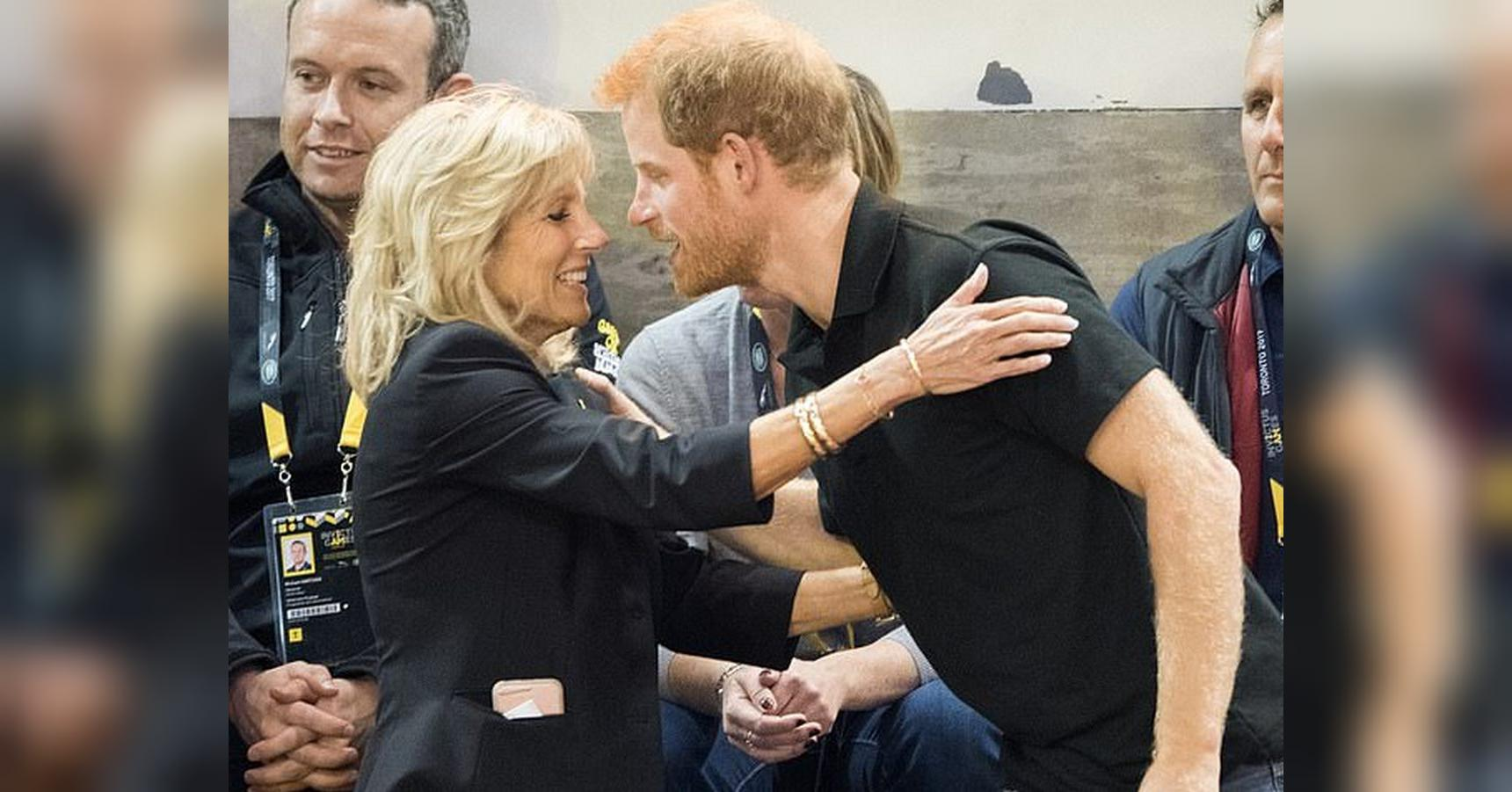 Prince Harry's surprising connection to Jill and Joe Biden