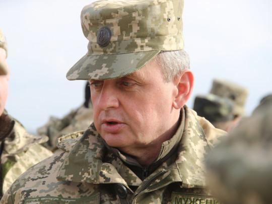 Виктор Муженко, 2015 год