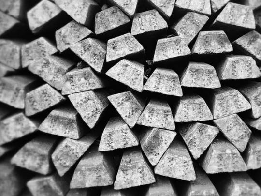 Слитки серебра