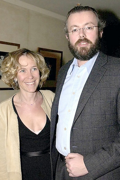 Ханс раусинг с женой