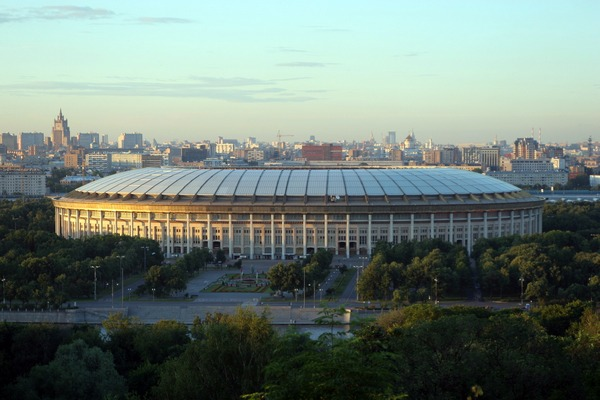 Стадион Лужники. Москва