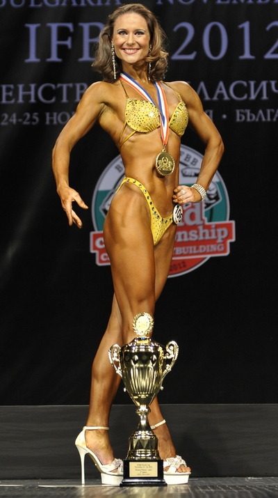 фото чемпионки мира по фитнесу