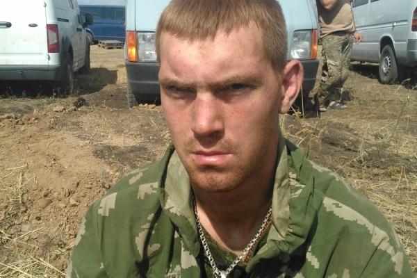 Попавшие в плен российские десантники на украине