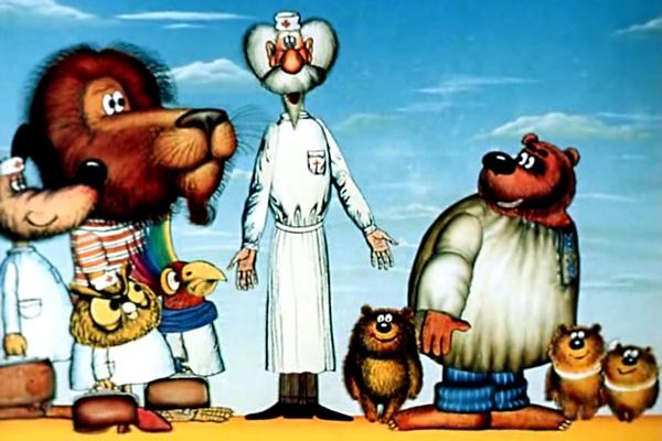 доктор айболит картинки из мультфильма