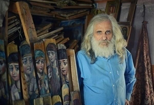 Благодійний аукціон іконописця Левка Скопа у Д12