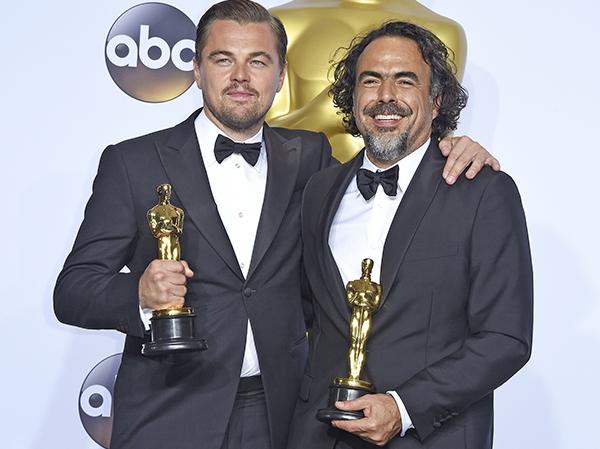Стоп-кадр: Леонардо ДиКаприо очень странно отпраздновал свою победу