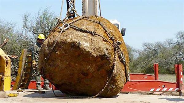 ВАргентине найден метеорит-гигант, 2-ой помассе наЗемле— Ученые