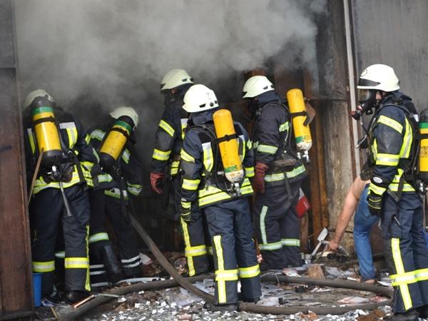 ВОдесской области cотрудники экстренных служб устранили возгорание складского помещения