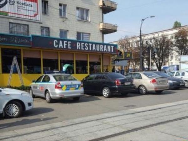 Вцентре столицы Украины вкафе произошла стрельба