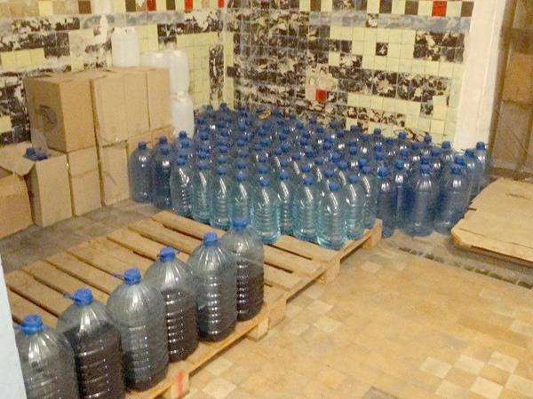 ВЗапорожье устранили цех попроизводству коньяка— Суррогатный спирт