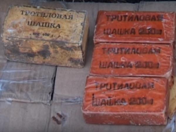 ВМалиновском районе Одессы обнаружили неменее 2 килограмм тротила