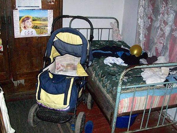 ВХмельницкой области мужчина насмерть забил двухмесячного сына